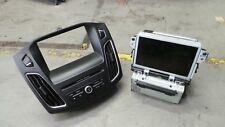Ford focus SYNC 2 radio cd player bm5t-18b955-fe DM5T-14F239-AP sat nav LH 15-17
