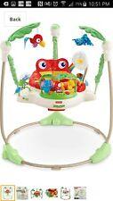 Fisher Price- Rainforest Jumperoo Baby Activity Jumper - Model K6070 -