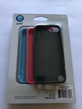 Onn 3 Pack Silicone Cases For IPod Touch 5 & 6 Black Pink Blue