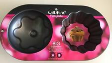 NEW Wiltshire Big Cupcake Pan Mould Bake Party Tin Cake Tray Birthday Cup Fun