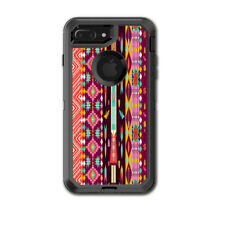 Skin Decal for Otterbox Defender iPhone 7 PLUS Case / Tribal Aztec