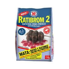 Raticida cebo fresco Ratibrom-2 - 1 Kg