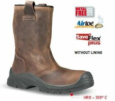 UPOWER WELDER SIZE 8 RIGGER TOE CAP WORK BOOTS UNLINED LIKE JALLATTE JALASKA