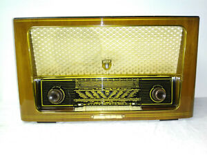 antigua röhrenradio wega 401 de valvula old antiguo rádio music