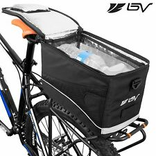 BV Bike Cycling Rear Seat Commuter Bag Trunk Cooler Touring Insulated Pack BA2