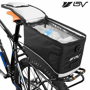BV Bike Cycling Rear Seat Commuter Bag Trunk Cooler Touring Insulated Pack