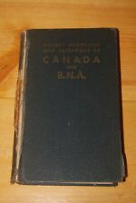 Weeda Lit: Holmes Handbook of Canada and BNA, First Edition 1945 printing, VG