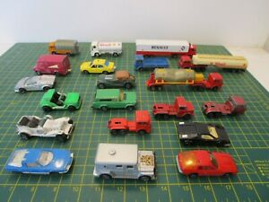 Vintage MAJORETTE Job Lot of 20 Diecast Toy Models