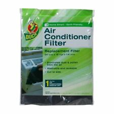 """(3-Pack) Duck Air Conditioner Foam Filter 24 x 15 x 1/4"""" - Cut to Size, Washable"""