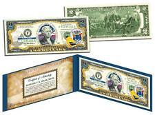 NEW JERSEY Statehood $2 Two-Dollar Colorized U.S. Bill NJ State *Legal Tender*