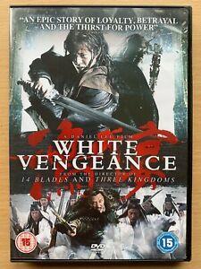 White Vengeance DVD 2011 Chinese Mandarin Martial Arts Movie w/ Anthony Wong