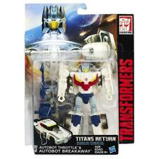 Transformers Generations Titans Return Deluxe Class Breakaway and Throttle Figur