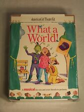 """American Girl """"What a World"""" Theater Kit New In Box!"""