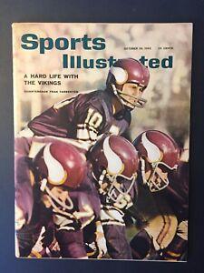 FRAN TARKENTON Minnesota Vikings 1962 Sports Illustrated No Label NEWSSTAND