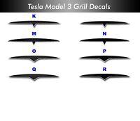 "Tesla Model 3 Grille--""S"" Style"