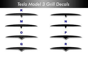 """Tesla Model 3 / Y  Grilles--""""S"""" Style Custom"""