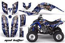 AMR Racing Yamaha Raptor660 Graphic Kit Wrap Quad Decals ATV 2001-2005 MADHTR SU