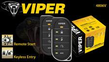 Viper 4806V 2 Way LED Car Remote Start System With Keyless 1 Mile Range 4806VB