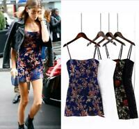 New Summer Party Floral Emilie Shanghai Nights Realise Cocktail Mini Slip Dress