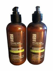 New 2 Salon Grafix Healthy Hair Nutrition Conditioning Cleanser Normal Hair 12oz