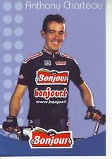 CYCLISME carte cycliste ANTHONY CHARTEAU équipe  BONJOUR.fr 2002