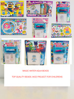 Aqua Beads Sets-MINIONS,SOFIA,MERMAID,PEPPA,SOFIA,PONY,FROZEN,NEMO,PJMASK,KITTY