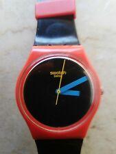 """orologio swatch STANDARD GENT modello """"LAUGH TIME""""GR 156 anno 2010 USATO RARO"""