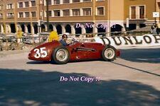 Juan Manuel Fangio Maserati 250F V12 Prototype Monaco Grand Prix 1957 Photograph