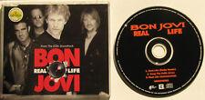 BON JOVI....REAL LIFE..3 TRACK AUSTRALIAN PRESSING SINGLE CD