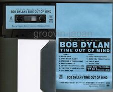 BOB DYLAN Time Out Of Mind JAPAN PROMO-ONLY ADVANCED CASSETTE w/fold-out Sleeve