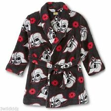 Disney Star Wars Plush Bath Robe 2T-3T