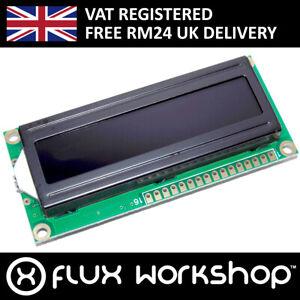 1602A Red LCD Module Black Backlight HD44780 16x2 Arduino Flux Workshop