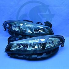 2x Scheinwerfer Renault Laguna 2 links + rechts 05-07 ab Facelift Set schwarz