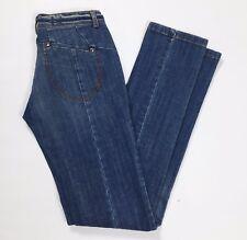 Divina jeans skinny slim stretti donna w28 tg 42 denim azzurri stretch hot T2681
