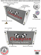3 Row RS Champion Radiator for 1994 1995 1996 1997 1998 1999 Suburban V8 Engine