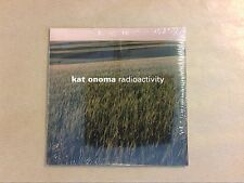RARE CD PROMO / KAT ONOMA / RADIOACTIVITY / NEUF SOUS CELLO