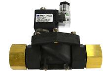 "1"" NPT Electric Plastic Nylon Solenoid Air Water Valve NC 12V DC pneumatic"