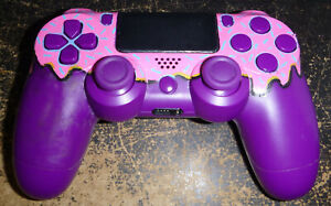 Sony PlayStation 4 PS4 Custom Painted Controller Tested Works No Charging Cable