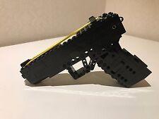 Lego Full Size Rubber Band Gun w/ bullet magazine Function Firing Pistol instock