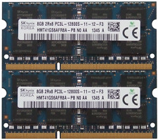 New Macbook Pro 16GB (2x 8GB) DDR3 PC3L 12800S 1600 Laptop MEMORY Hynix Low Volt