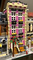 LEGO CUSTOM MODULAR BUILDING TOWN HOUSE fits with 10218 10246 10251 MOC 572 np