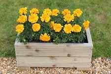 Wooden Garden Decking Trough Planter Veg Bed Flower Plant Pots In Decking Boards