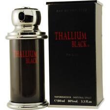THALLIUM BLACK by YVES DE SISTELLE Men Cologne 3.3 oz edt 3.4 New in Box