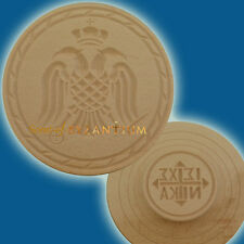 Orthodox Prosphora Seal Wooden with Byzantine Eagle 16cm