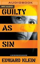Guilty As Sin by Edward Klein (2016, MP3 CD, Unabridged)