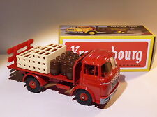 Hors série : Plateau brasseur Berliet GAK rouge - ref 588 K de dinky toys atlas