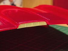 NEW - Missing bonnet vent for 1/8 scale Revell Monogram E Type Jaguar car kit