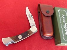 Remington USA mint in box R9 Outdoorsman lockback knife & leather sheath