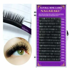 16Rows Faux mink individual eyelash lashes maquiagem cilios for