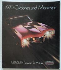 1969 FORD MERCURY CYCLONE COBRA JET CJ 428 RAM AIR A3 POSTER AD ADVERT BROCHURE